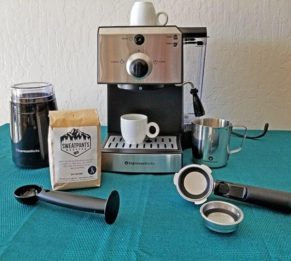 Espressoworks All In One Espresso Machine Set Be A