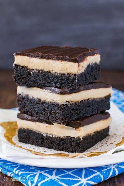 Coffee dessert - Coffee Cream Brownies by Inside BruCrew Life