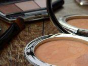 Cosmetics makeup foundation powder brush
