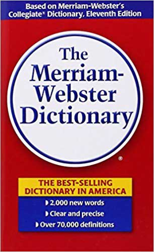 Merriam Webster Dictionary banned book