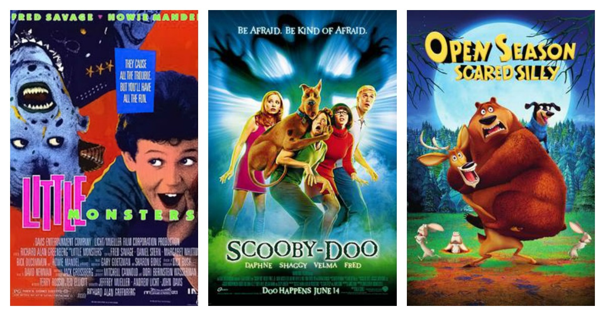 Sweatflix & Chill | 5 Family-Friendly Halloween Movies