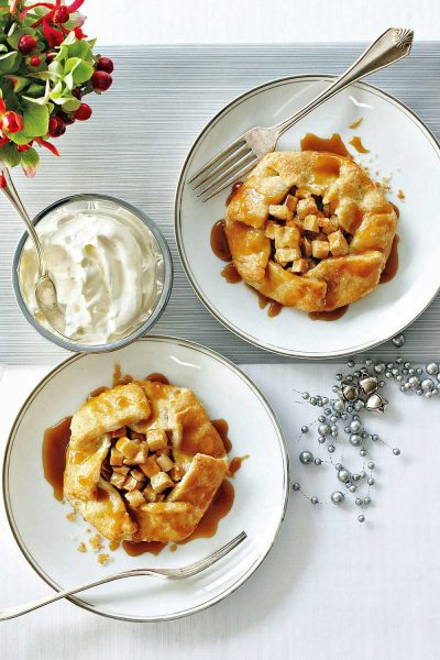 Warm Spiced Apple Galettes With Whiskey Caramel by Canadian Living