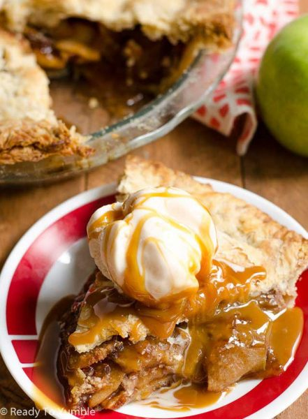 Brown Sugar Bourbon Apple pie recipe
