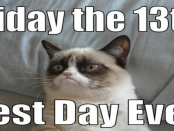 Grumpy Cat Friday the 13th