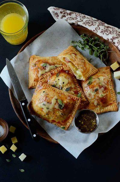 Broccoli, Ham & Cheese Pop Tarts by Easy & Delish