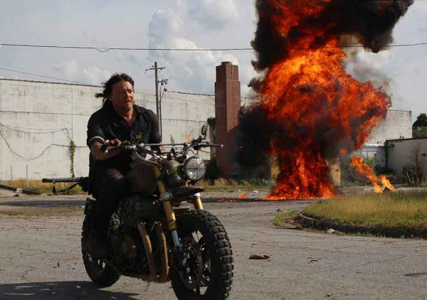 The Walking Dead Season 8 premiere Daryl Norman Reedus motocycle