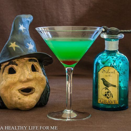 Witch's Brew Cocktail from A Healthy Life For Me