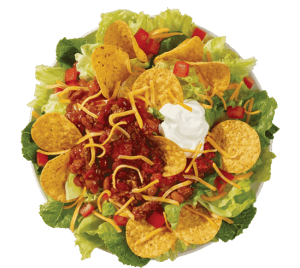 Wendy's Taco Salad healthy fast food choices
