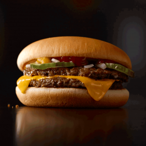 McDouble McDonald's healthy fast food choices