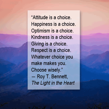 Roy T Bennett kindness quote