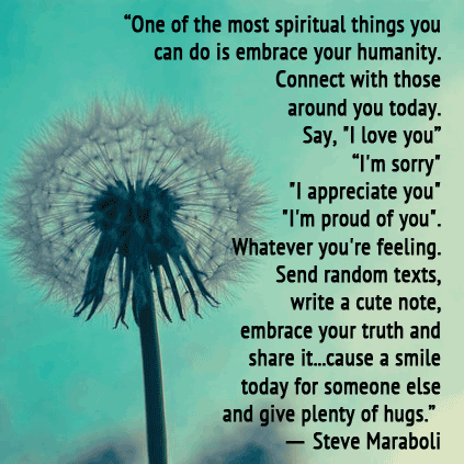 Steve Maraboli kindness quote