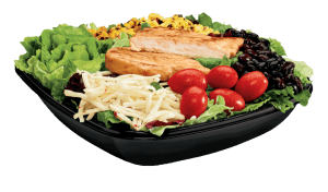 Jack in the Box Southwest Chicken Salad healthy fast food choices