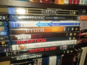 Leonardo DiCaprio DVDs