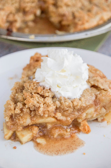 Dutch Apple Pie from Diary of a Real Housewife