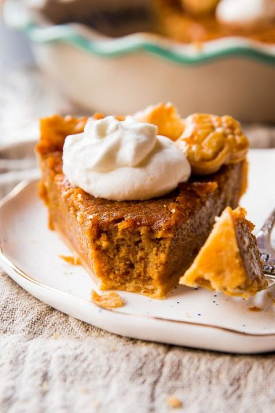Brown Sugar Sweet Potato Pie by Sally's Baking Addiction