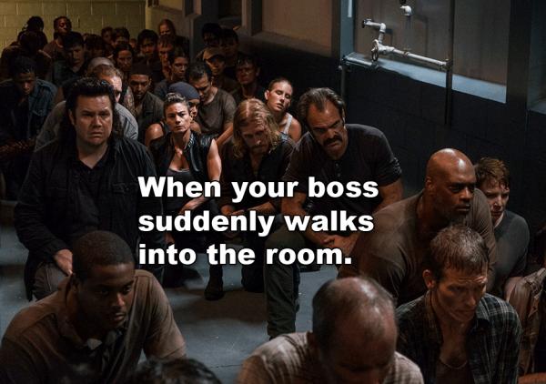 The Walking Dead season 8 episode 5 Negan
