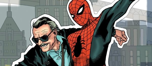 Stan Lee & Spiderman
