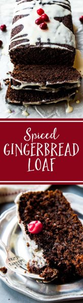 Spiced Gingerbread Loaf from Sally's Baking Addiction