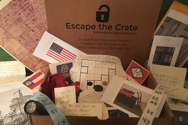 Cratejoy, monthly subscription service, subscription box, games, game night, Escape the Crate