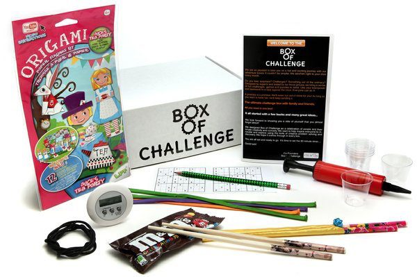 Cratejoy, monthly subscription service, subscription box, games, game night, Box of Challenge