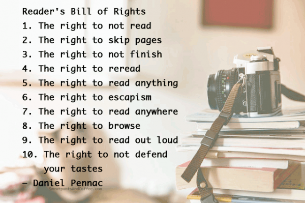 Daniel Penna Readers Bill of Rights quote