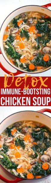 Detox Chicken Soup
