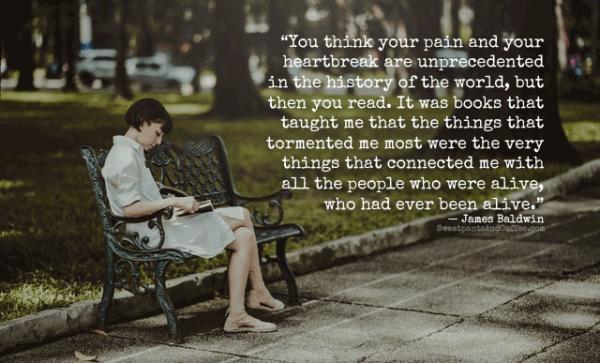 James Baldwin books heartbreak reading quote