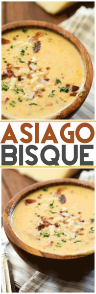 Asiago Bisque recipe Chef in Training