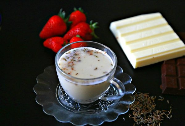 Lavender White Hot Chocolate | Nutrizonia
