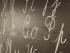 chalk blackboard writing classroom