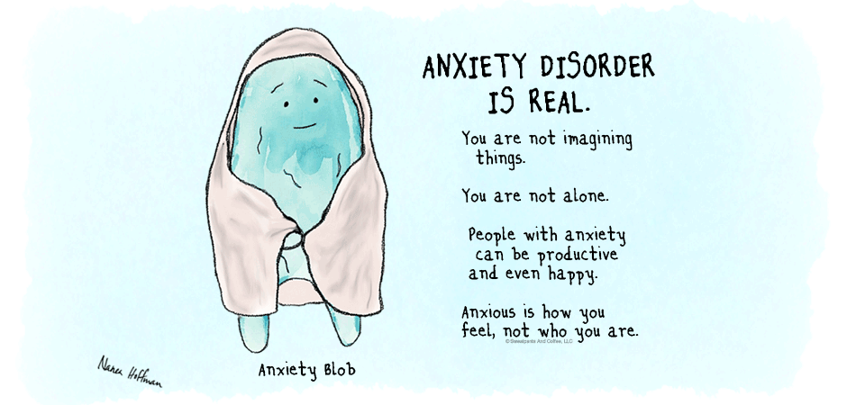 Anxiety-Blob-anxiety-disorder-is-real-Nanea-Hoffman-Sweatpants-&-Coffee