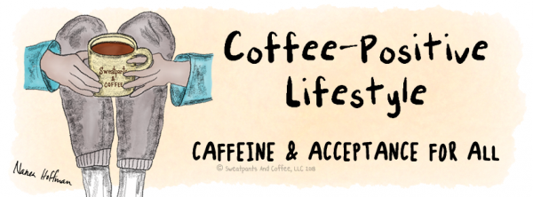 Facebook cover Coffee Positive Lifestyle