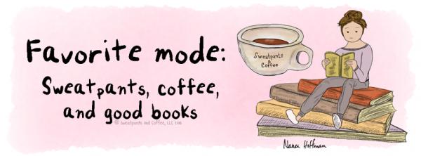 Facebook wallpaper Sweatpants Coffee & Books