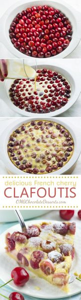 Cherry Clafoutis | Oh My Goodness Chocolate Desserts