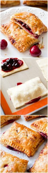 Simple Cherry Pastry Pies | Sally's Baking Addiction