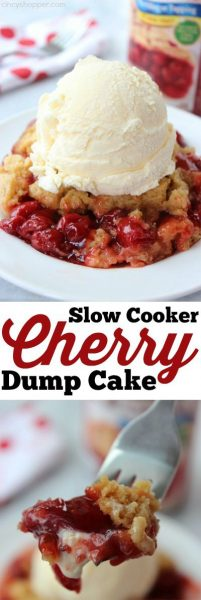 Slow Cooker Cherry Dump Cake | Cincy Shopper