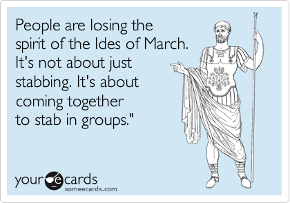 Ides of March Meme