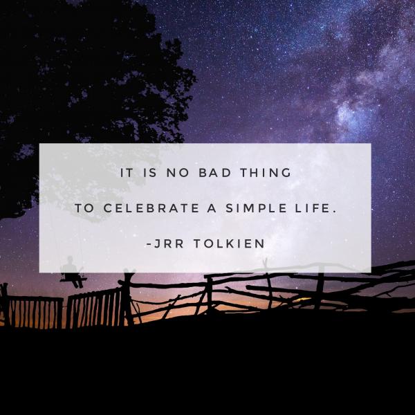JRR Tolkien Quote