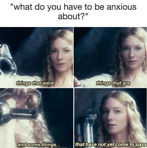 what do you have to be anxious about