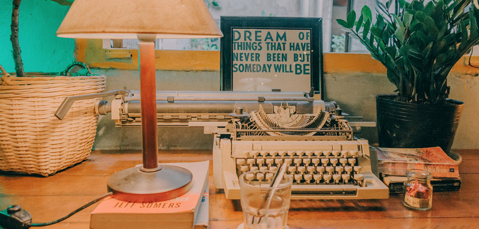quotes home cozy photography vintage typewriter