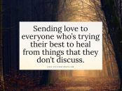Steve Maraboli quote healing from things they don't discuss