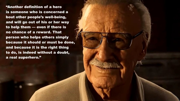 Sweatpants Pop Culture A Collection Of Quotes By Stan Lee