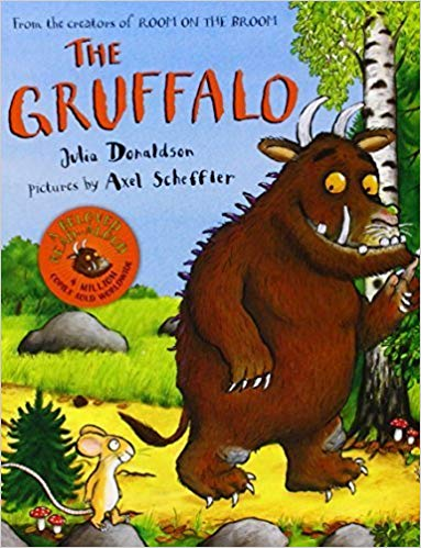 4. The Gruffalo Written By Julia Donaldson and Illustrated By Axel Scheffler
