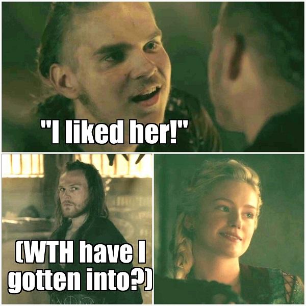 """Sweatpants & TV   Vikings, Season 5, Episode 13: """"A New God"""""""