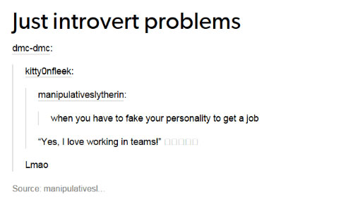 introverts-fake-personality-to-get-job