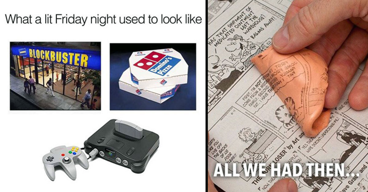 Nostalgia: 23 Things That Only 80s & 90s Kids Will Understand