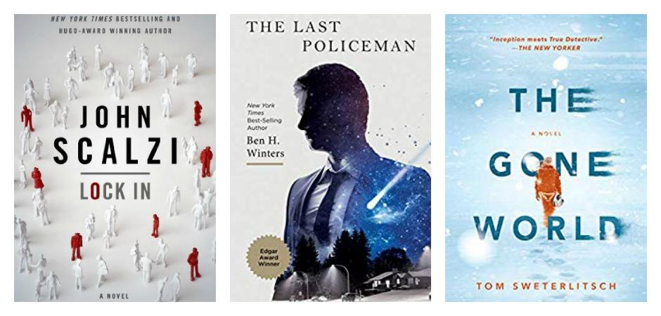Shelf Care Sci-Fi Novels About Futuristic Law Enforcement