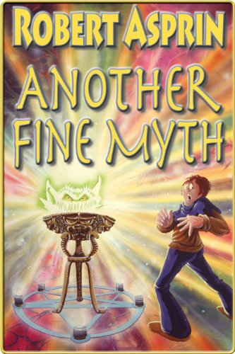 Another Fine Myth, Book 1 of the Myth-Adventures series, by Robert Asprin.