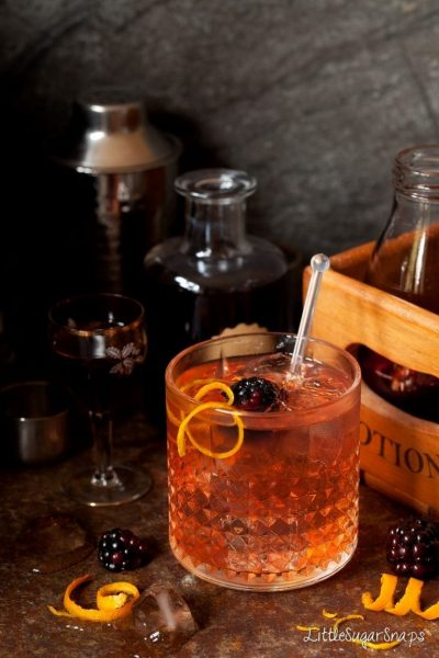 The Winter Gin and Tonic with Elderflower and Sloe by Little Sugar Snaps