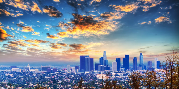 This novel capturing the spirit of Los Angeles begins